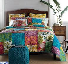 Free Shipping New Arrival Colorful Patchwork Quilt Handmade ... & Free Shipping New Arrival Colorful Patchwork Quilt Handmade bedding set King  Size US $148.00 Adamdwight.com
