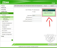 Zte ips zte usernames/passwords zte manuals. Cara Setting Password Administrator Router Zte Zxhn F609 Indihome By Tril21 Blog Tril21