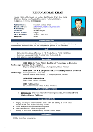 Free Download Resume Templates For Microsoft Word 2010 New