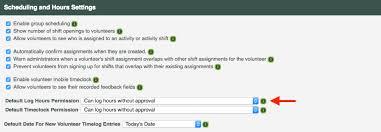 9b Logging Hours Volunteer Trial Guide