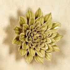 >isabella ceramic flower blossom wall art isabella lily wall art multi pastel