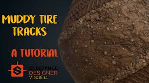 Substance Designer Beginner The Ultimate Muddy Tire Tracks Material In Substance