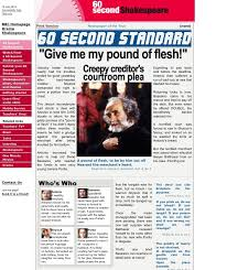 the merchant of venice newspaper article mrs taylor s school blog image