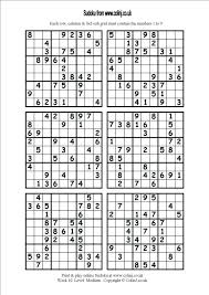 Printable Printable Sudoku Template 6 Per Page With Images Free