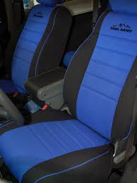 jeep wrangler half piping seat covers front seats 2007
