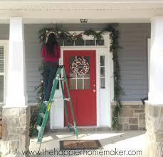 how to hang garland around front doorHow To Hang Garland Around Front Door I37 In Lovely Home