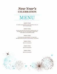 new year s template new year party menu template menu template new years