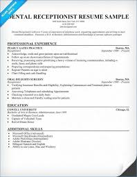 Medical Receptionist Resume Template Enchanting Salon Receptionist Resume Inspirational Receptionist Resume Template