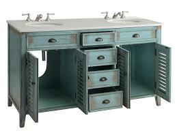 Vanity 60 Inch Double Sink