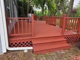 Get design inspiration for painting projects. Tips For Applying Solid Deck Stain Dengarden