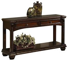 dark wood hall table. Narrow Wood Console Table Cherry Transitional Cherries Two Drawer Accent Sofa With Bottom . Dark Hall