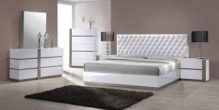 white bedroom furniture. Delighful Furniture Magnificent White Modern Bedroom Furniture With  Raya For
