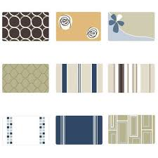 designer bath rug