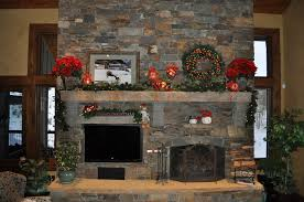 Exciting Christmas Decorations For Fireplace Mantel 75 With Christmas Fireplace Mantel