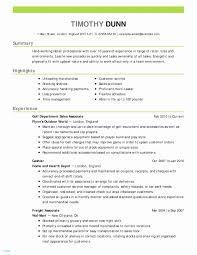 Hard Worker Resume Example Resume