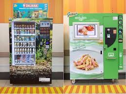 Healthy Vending Machine Singapore Beauteous The Largest Vending Machine Cluster In Singapore Dispenses DIY