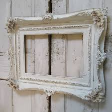 white antique picture frames. Distressed White Frame Hand Painted Shabby Chic Chalky Wooden Antique French Nordic Wood Wall Hanging Picture Frames