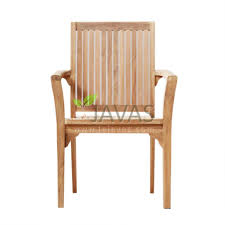 teak outdoor asker stacking chair le