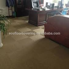 woven pvc foam carpet tile high end pvc tile hotel flooring