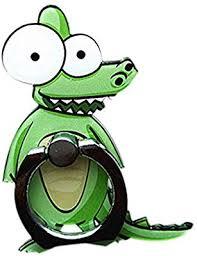 Ttaon Phone Stand Cartoon Zebra Ring Buckle Holder Adorable