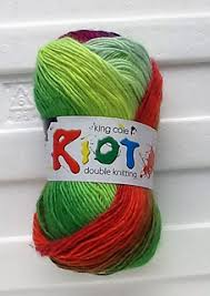Ravelry King Cole Riot Double Knitting