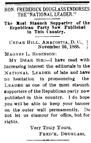 fredrick douglass essay a scaffolding support system for english  frederick douglass frederick douglass in washington d c the national leader 19 jan 1889 fd endorses national