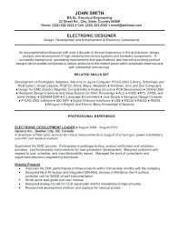 Resume Template For Mechanical Engineers Stocky Me