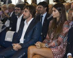 Fernando Alonso his girlfriend Linda Morselli Editorial Stock Photo - Stock  Image