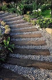 27 easy and walkway ideas for your garden wooden garden walkway ideas