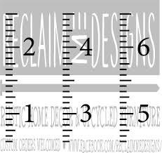 Growth Chart Svg For Cricut Cutting Machine