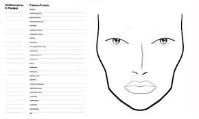 sle chart templates face chart template free charts sles