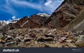 Rocks Barren Land Ladakh Desert Stock Photo (Edit Now) 1132758302