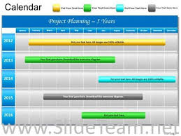 5 year timeline template 5 year timeline ppt chart powerpoint diagram