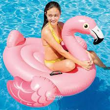 <b>Надувная игрушка Фламинго</b> 142*137 см купить в Москве по цене ...