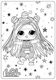 Lol surprise dolls coloring pages book videos printable !lol surprise color swap set, learn to colors for kids & toddlers !hi guys, it's kids time tv :)lol. Free Printable Lol Surprise Hairgoals Coloring Pages