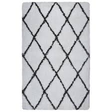Diamond Pattern Rug Enchanting Modern Diamond Pattern Shag Rug Shades Of Light