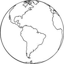 Large Earth Coloring Page Great For Earth Day Crafts Preschool