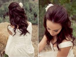 Wedding Half Up Hairstyles Wedding Hairstyles Half Up Down Straight Hair Wedding