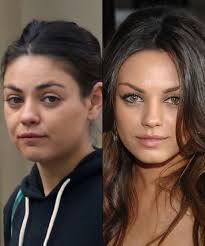 mila kunis celebs without makeup you