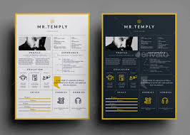 Visual Resume Templates Awesome 28 Best Yet Free Resume Templates For Word