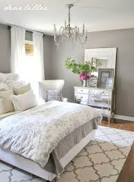 Bedroom: Charcoal Grey Wall Color For Colonial Bedroom Decorating Ideas For  Young Women With Printed Floral Bedding Set, Elegant Bedroom Color, ...