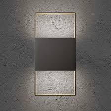 feature wall lighting. Light Frames 14 Inch Up Down Outdoor LED Wall Sconce Feature Lighting