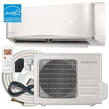 split ductless air conditioner.  Air Energy Star 12000 BTU 1 Ton Ductless Mini Split Air Conditioner  For A