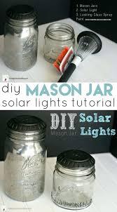 diy mason jar lights mason jar solar lights diy mason jar sconce with fairy lights diy mason jar lights