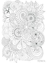 Extremely Hard Coloring Pages Astounding Printable Really Co Free