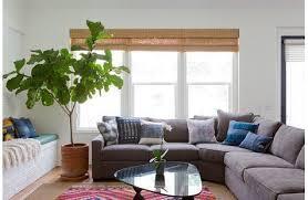 Brown And Blue Living Room Fascinating Blue Brown Gray Living Room Coastal Industrial Modern