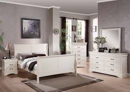 The Louis Philippe III Bedroom White Bedroom Collection
