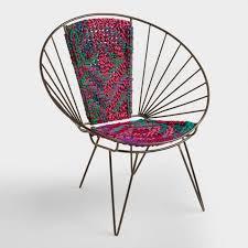 woven metal furniture. Metal Woven Chindi Chair Furniture O