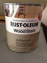 Rustoleum Driftwood Stain Pie Pan Philosophy