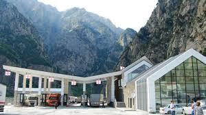 пропускной пункт Верхний Ларс закрыт Контрольно пропускной пункт Верхний Ларс закрыт